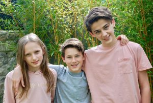 Sienna, Noah & William Franklyn-Miller